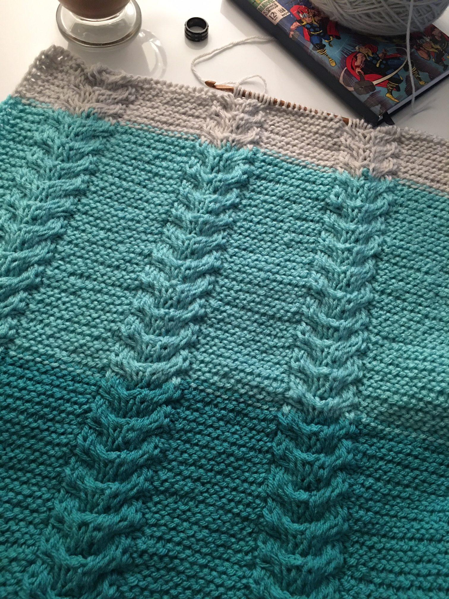 Ofilia S Blanket Tunisian Crochet Mode Bespoke